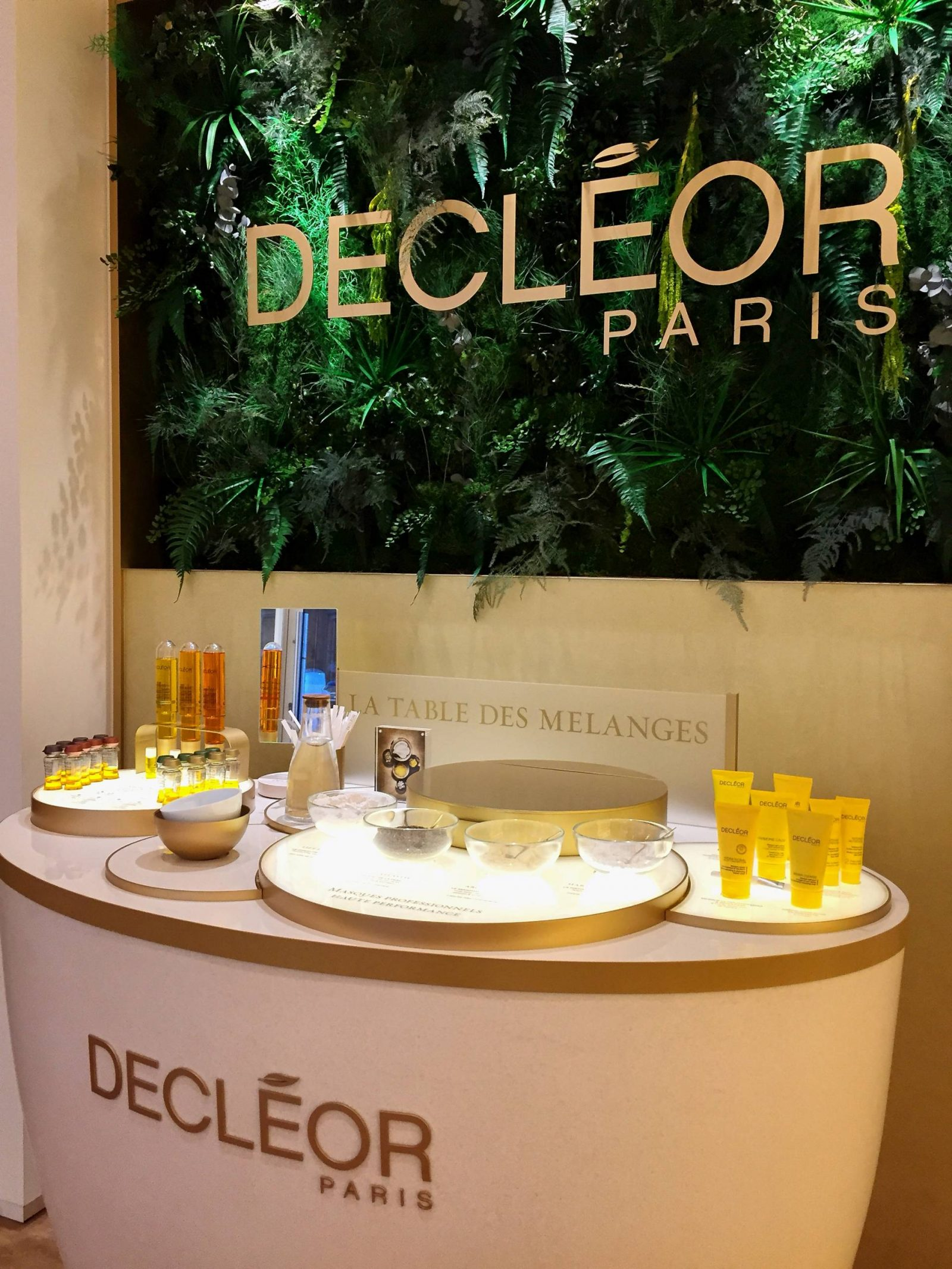 Spa – Paris – Decléor