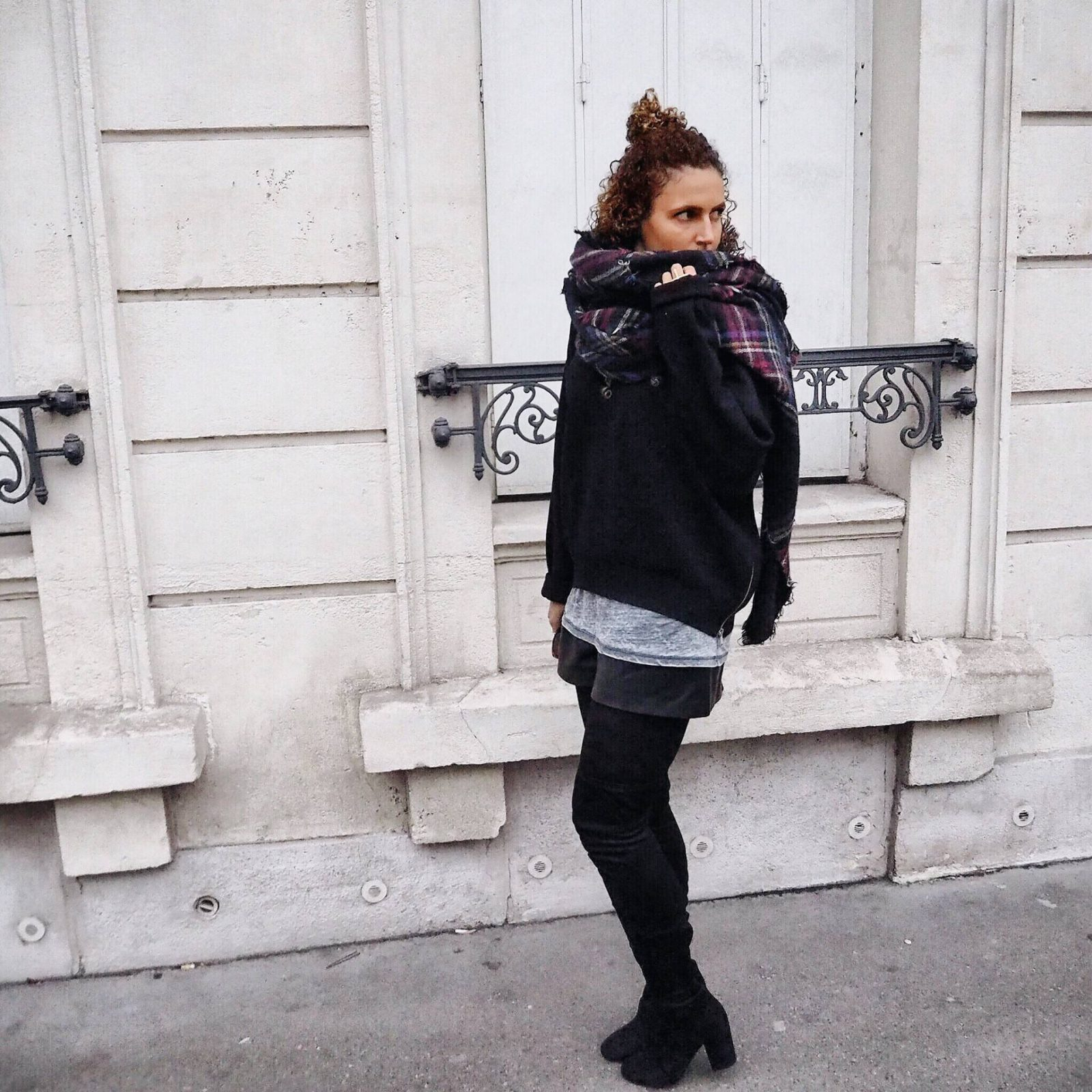 Thigh Boots in Paris
