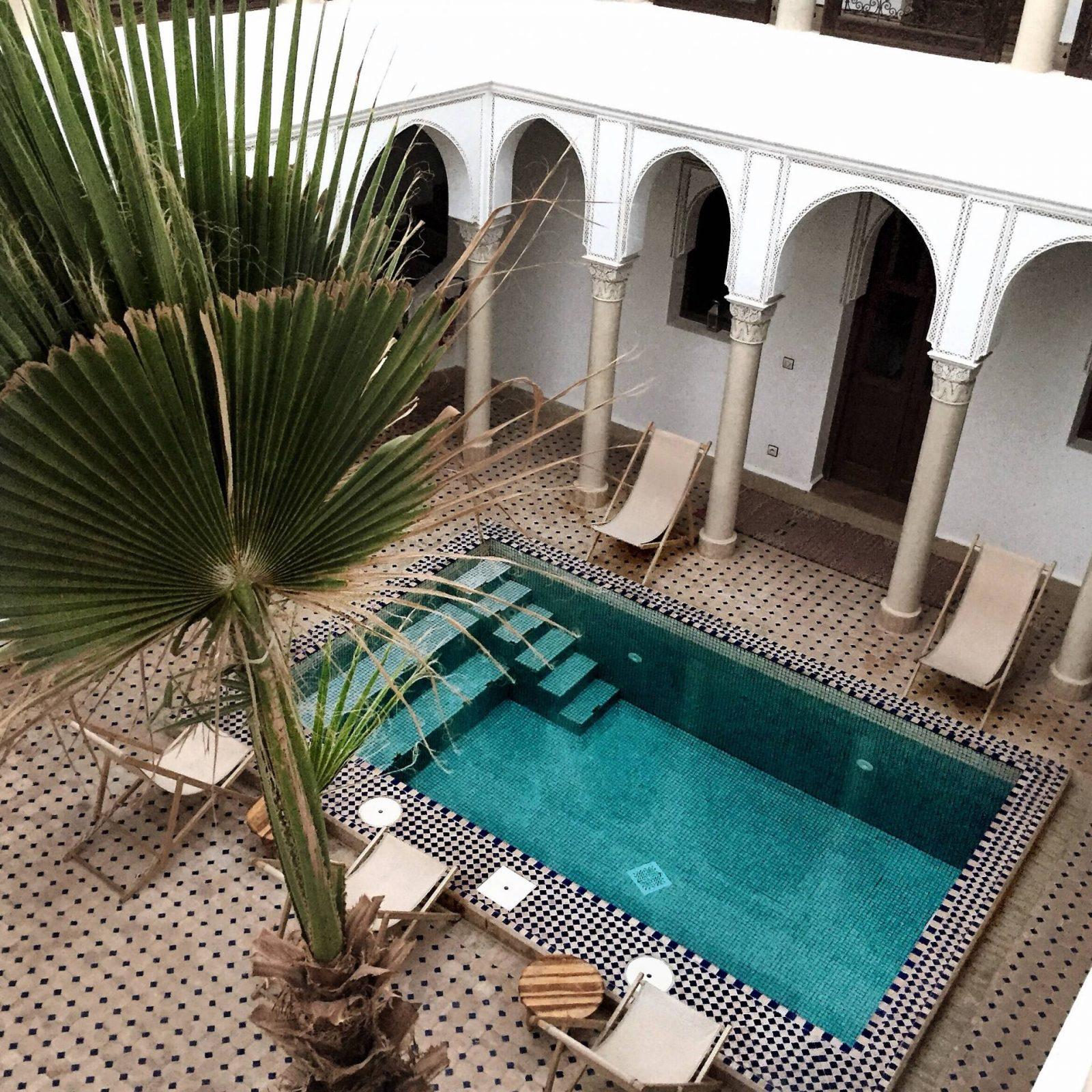 Maroc – Marrakech – Riad Le Jardin D'abdou