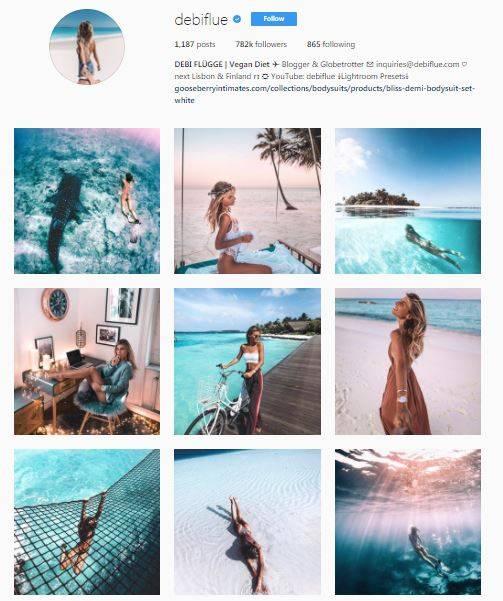 Faut-il où non retoucher des photos sur Instagram ?