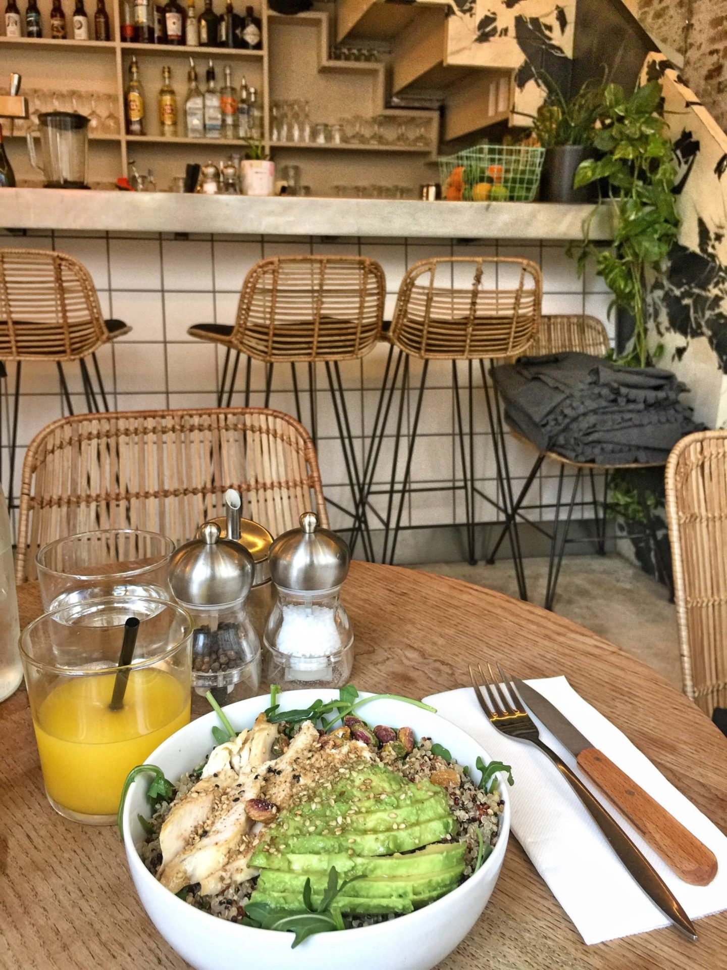 Mes adresses Vegan à Paris