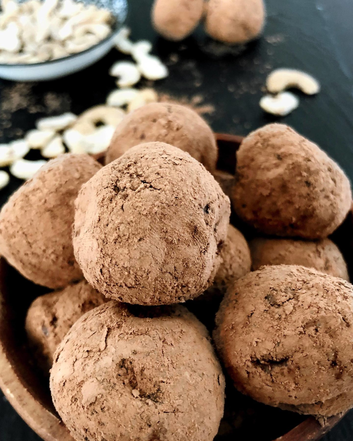 Truffes au chocolat Vegan, Sans Gluten, Protéinées / Chocolate truffles, vegan, glutenfree and proteined !